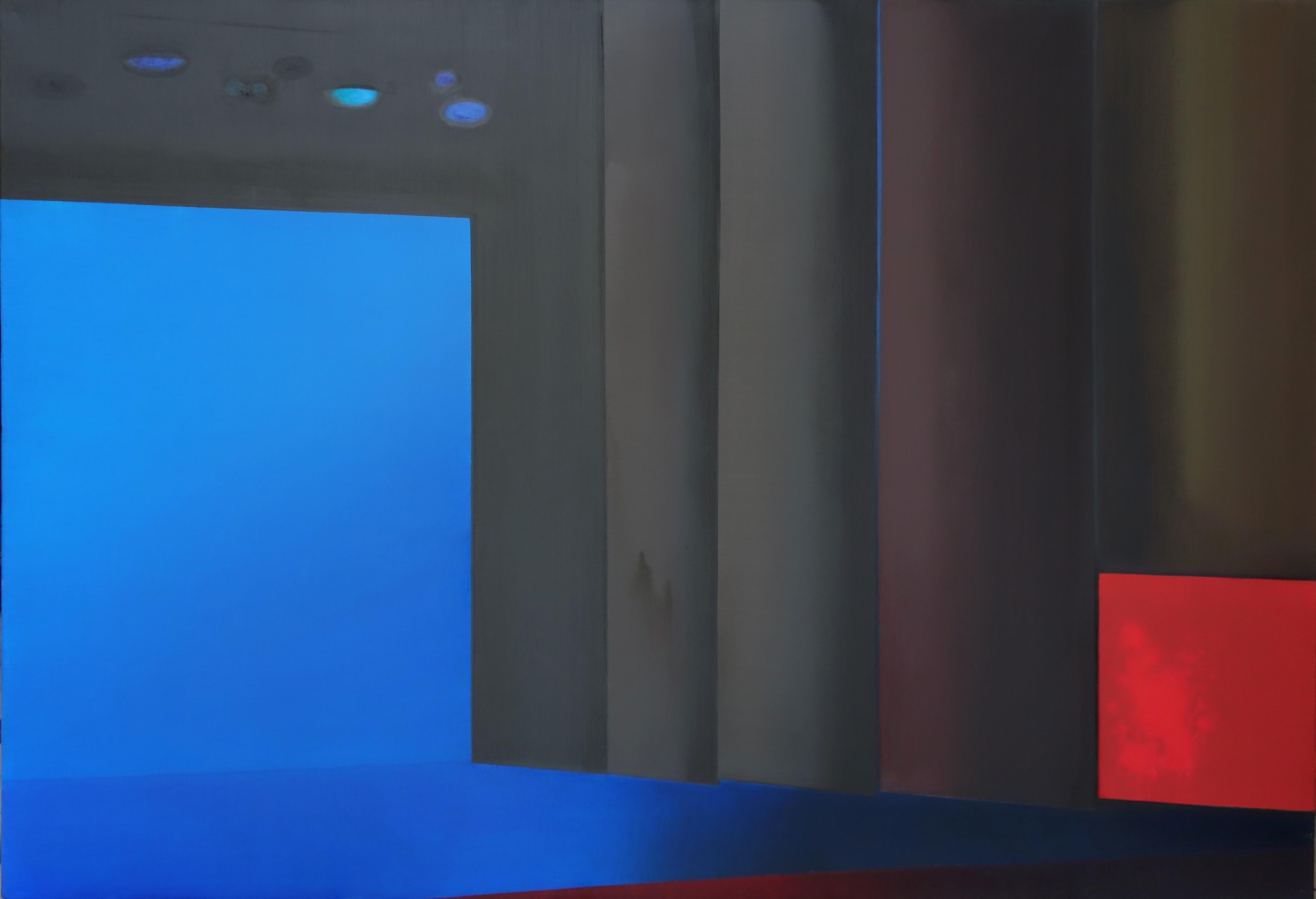SCENA.RAUDONA DĖMĖ.110×160,al.drb