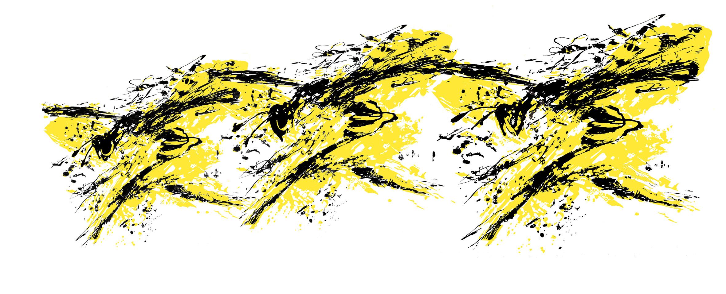 Trys bičių dobile V.Gaidamavičiūtė-Kisielienė