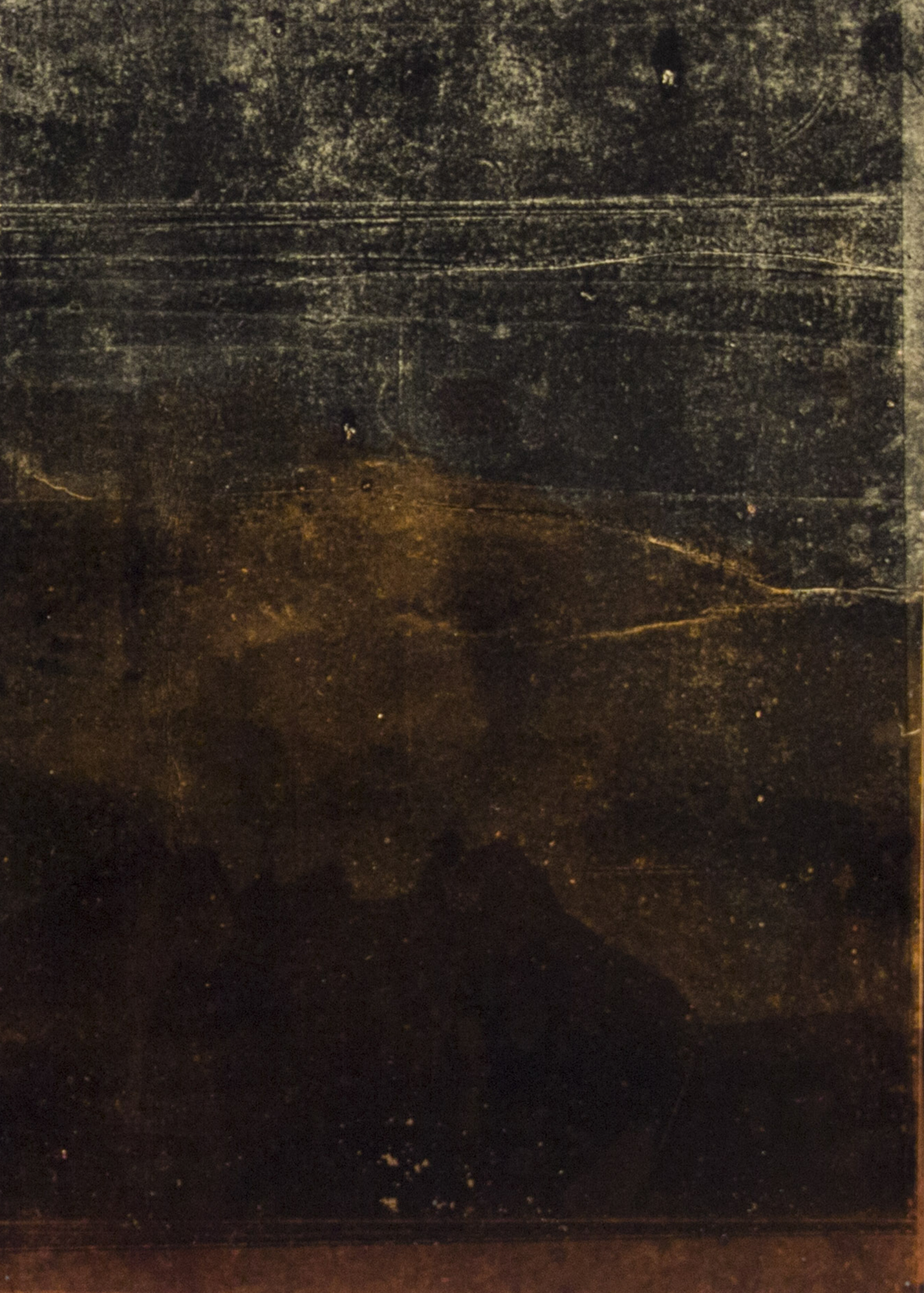 Vienos dienos tiesos (1) _ 60×600 cm _ 2015 _ daugiasluoksnė monotipija (fragmentas3)