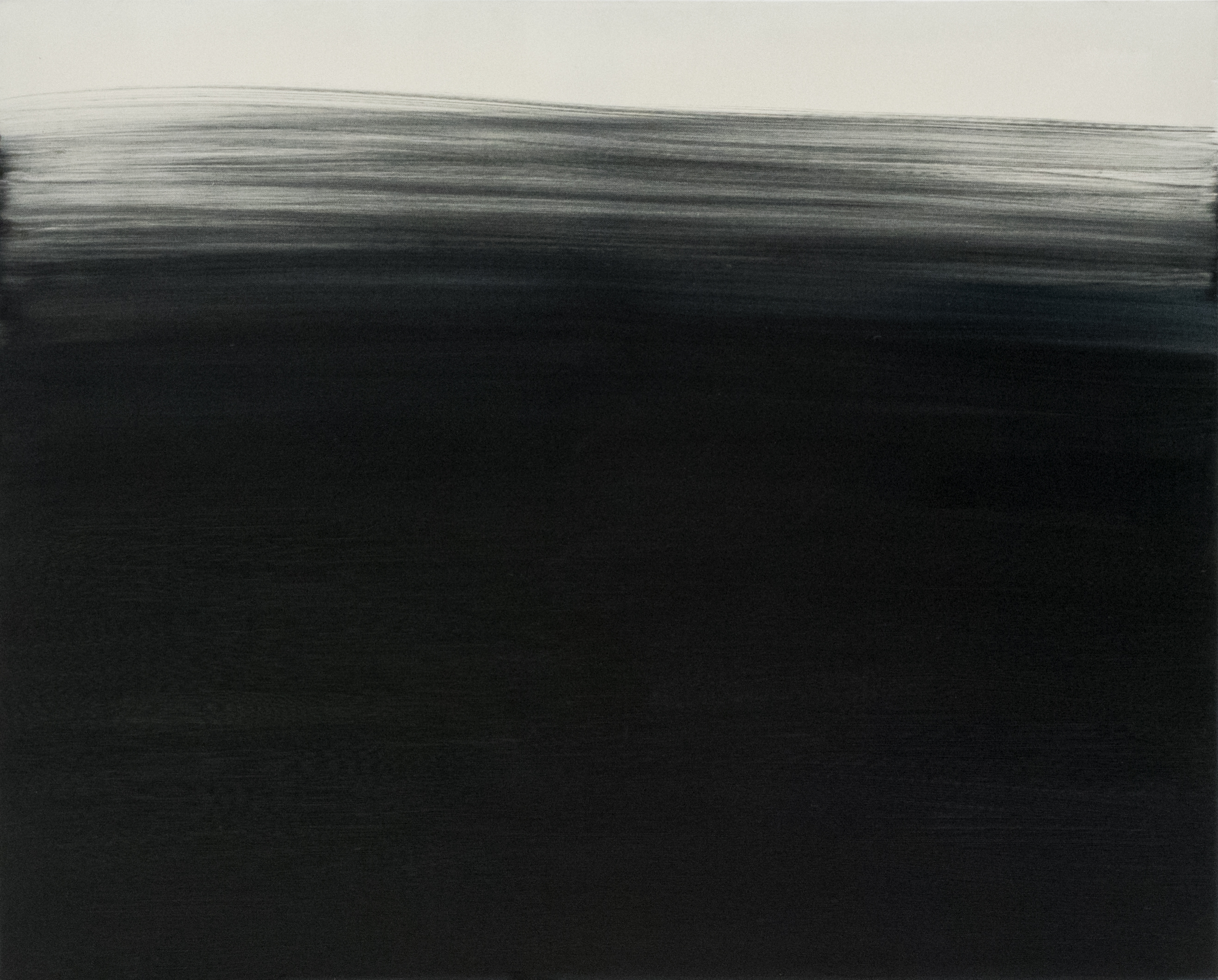 S.Želnytė.Temstanti atmintis. Užsimiršimas. Iš projekto Slinktis.Temstant. 2017m. 100×80 cm., drb., aliejus. foto I.Mockutė – Pocienė